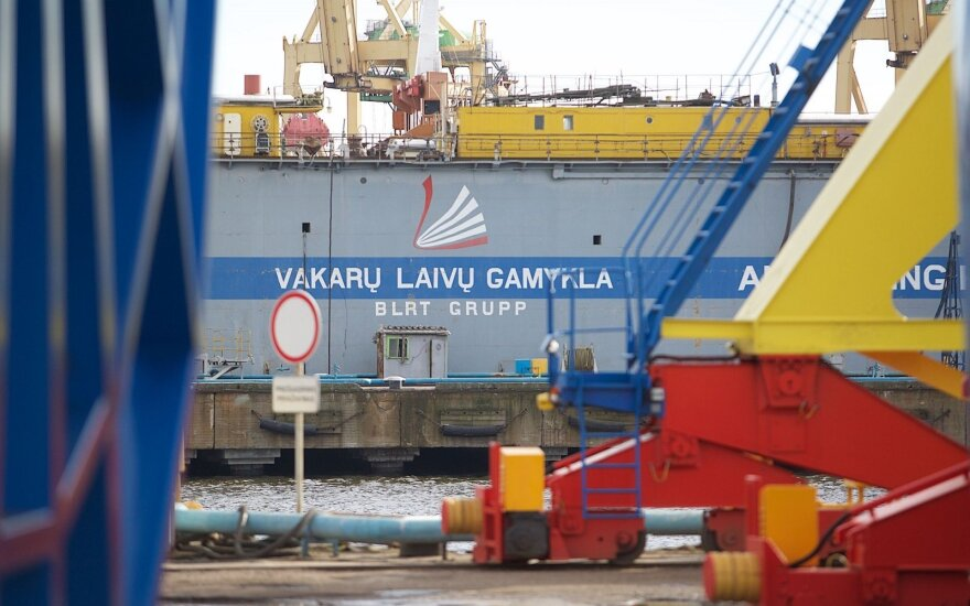 Klaipėda shipyard acquires biggest dock in the Baltics