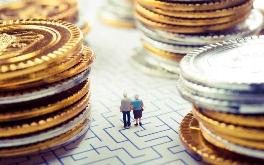 Ketvirtadalis Estijos gyventojų nesitiki kada nors išeiti į pensiją