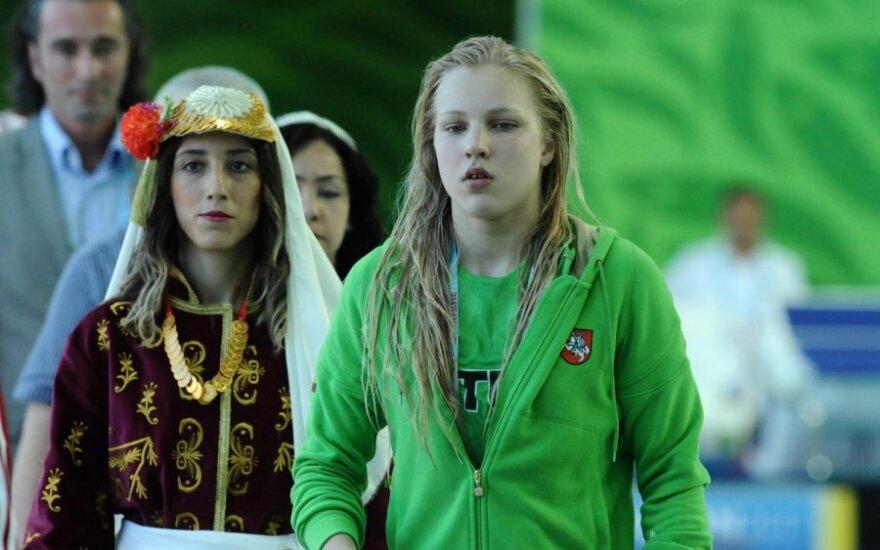 Rūta Meilutytė iškovojo visų spalvų medalius