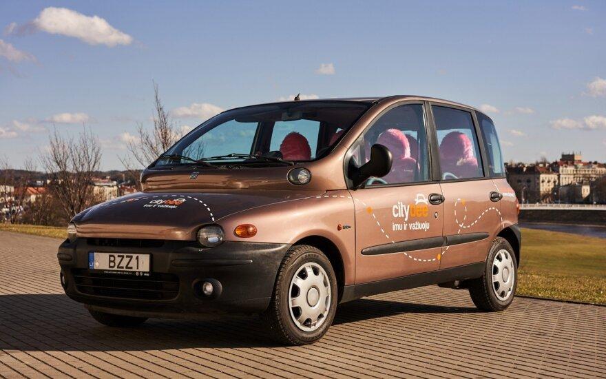 """CityBee"" pasipildė ""Fiat Multipla"" automobiliu"