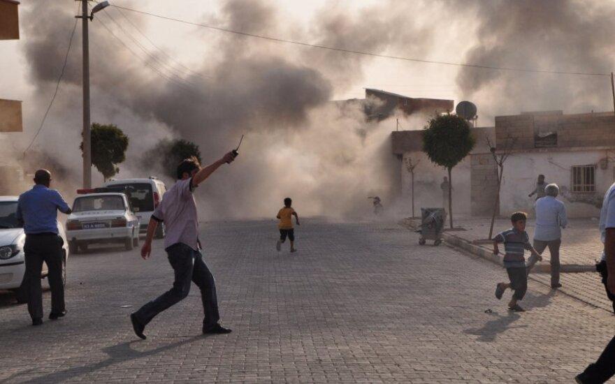 Sirija: Homse teroro akto aukomis tapo septyni žmonės, 25 sužeisti