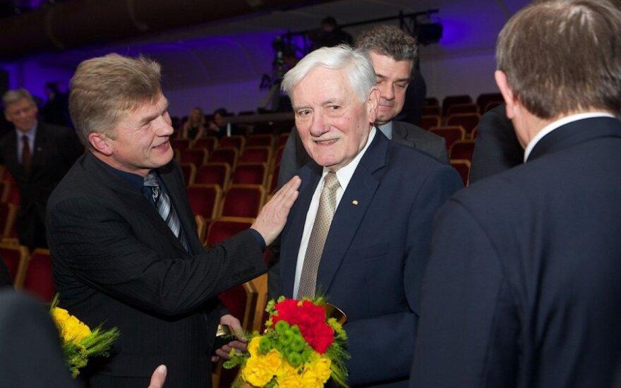 V. Adamkui – pasaulio lietuvių sporto ambasadoriaus vardas