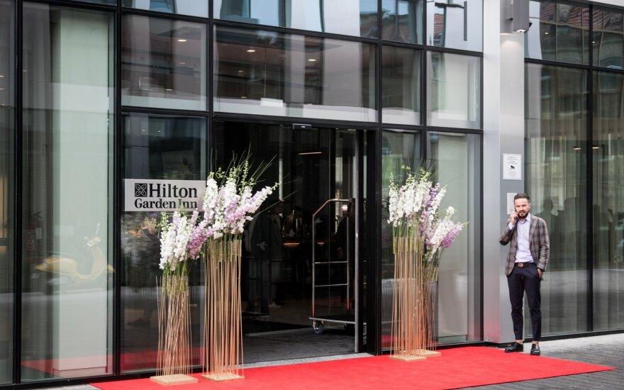 """Lietuvoje duris pravėrė pirmasis """"Hilton"""" viešbutis"""
