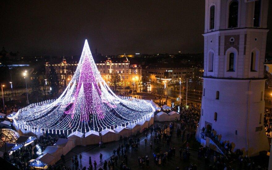 Vilniaus eglutei – dar daugiau pagyrų: išrinkta gražiausia Europoje