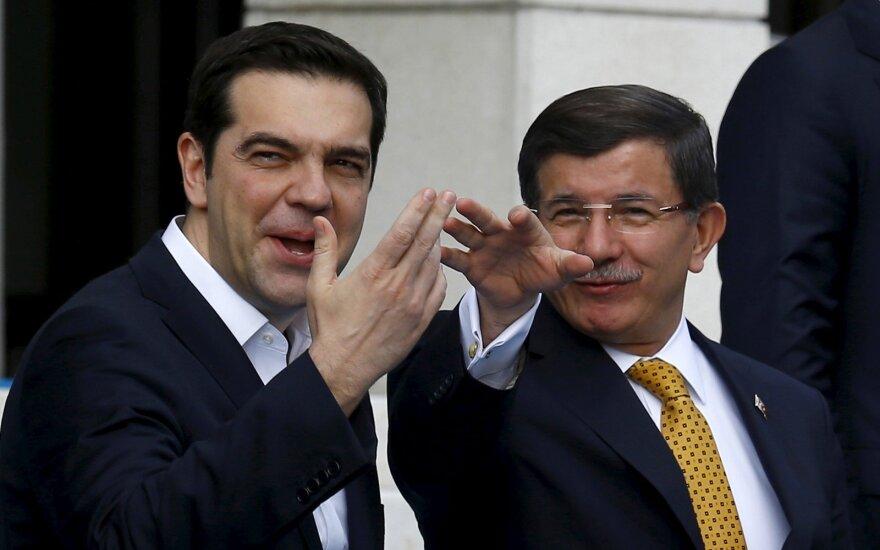 A. Davutoglu, A. Tsipras