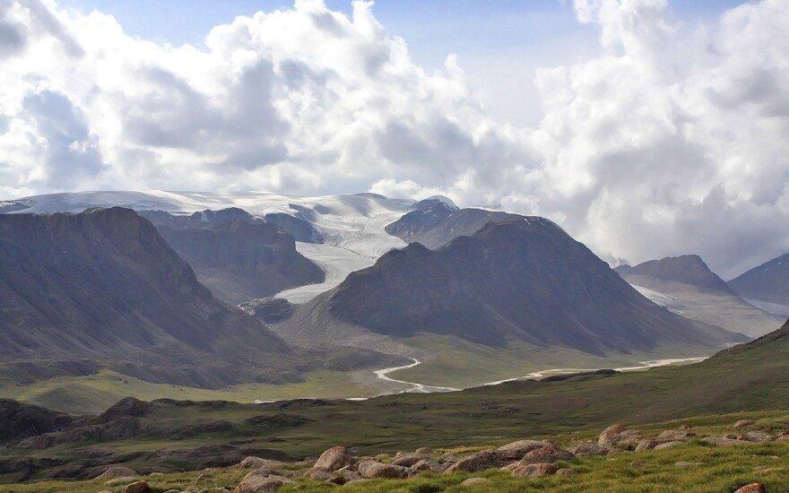 Tian Shan mountain range