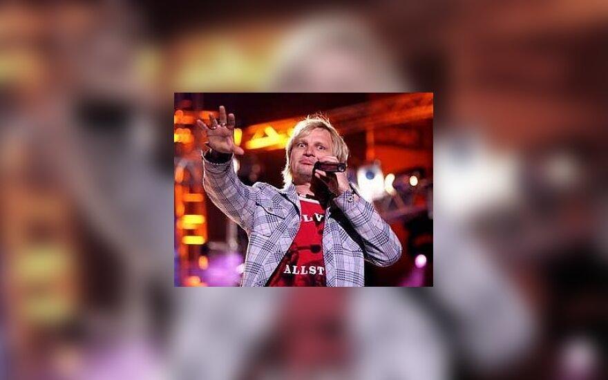 Roko muzikantas Ukrainoje reklamuos Lietuvą