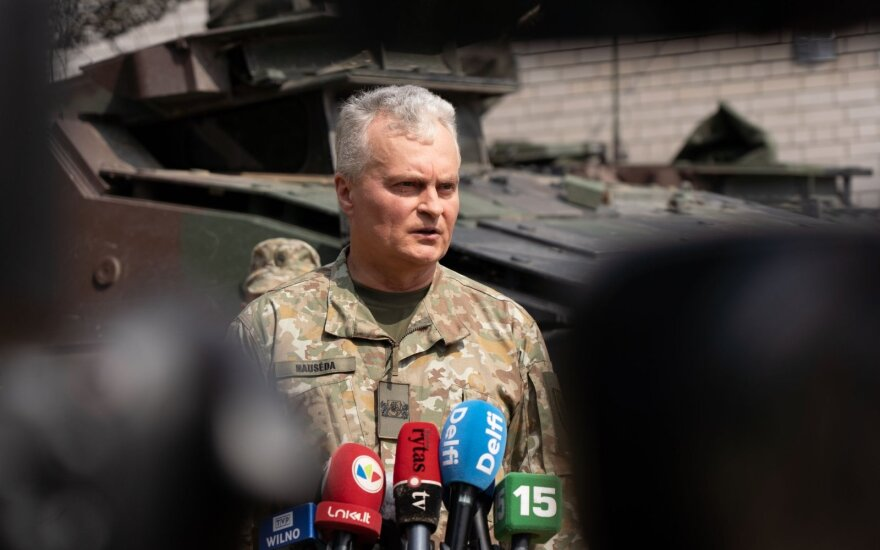 President: Lithuania is ready to do everything to ensure maximum deterrence effect