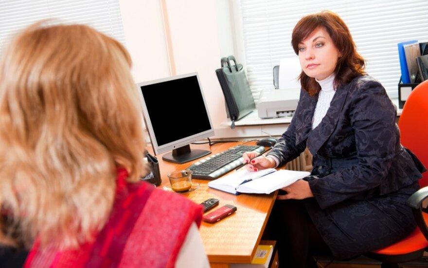 Patarimai ieškantiems darbo: ką kalbėti, o ką nutylėti