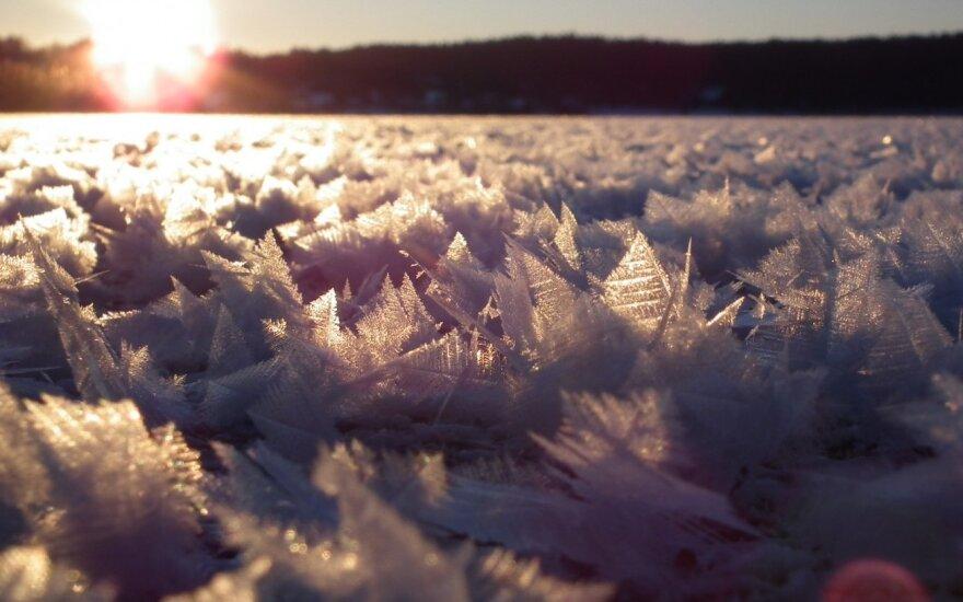 Orai: šalčiai Lietuvoje neužsibus
