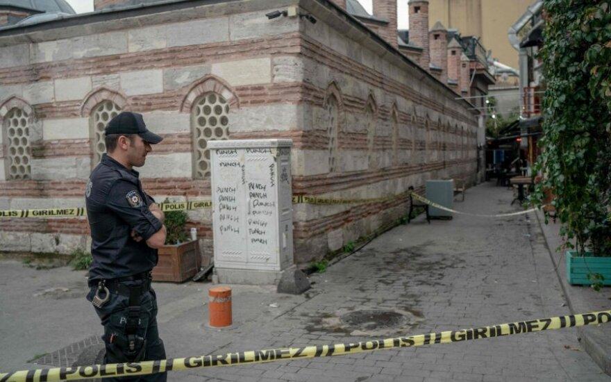 Vieta Stambule, kur rastas Jameso Le Mesurier kūnas