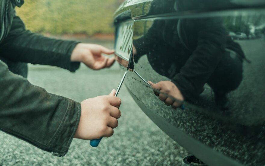 Automobilio registravimas