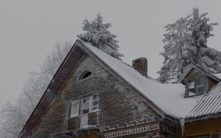 Kartu su kalendorine žiema į Lietuvą atplūs ir sniegas