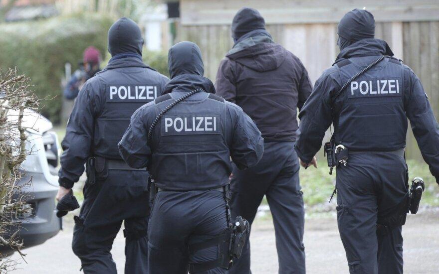 Vokietijoje ieškoma inkasatorių automobilio užpuolikų