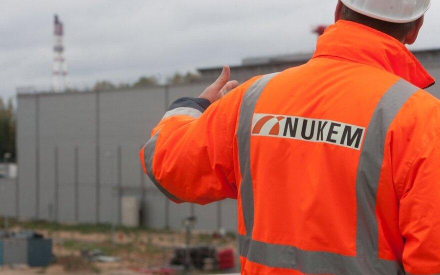"""""""Nukem"""" brandolinių atliekų saugykla"""