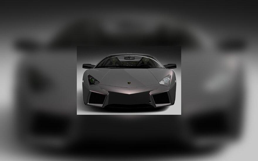 "4 mln. Lt už ""Lamborghini"" kabrioletą"