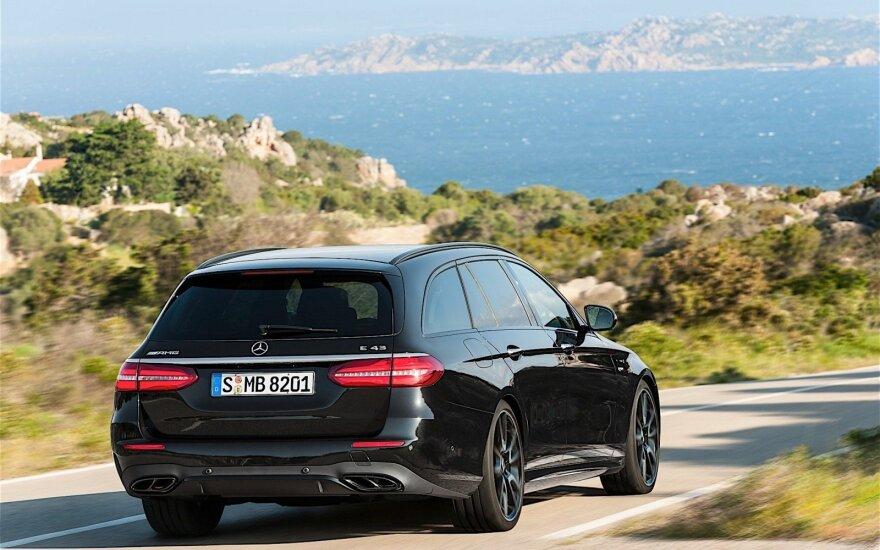 "Naujos kartos ""Mercedes-AMG E43 4Matic"" universalas"
