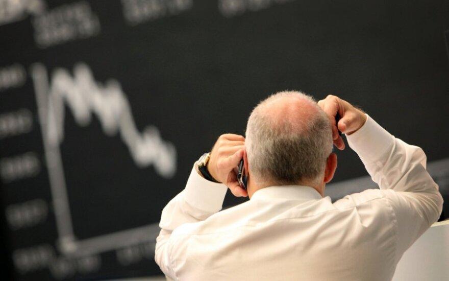 JAV akcijų biržos gyveno korekcijos nuotaikomis