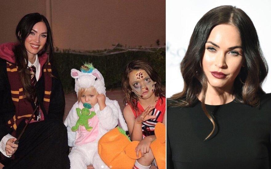 Megan Fox su vaikais