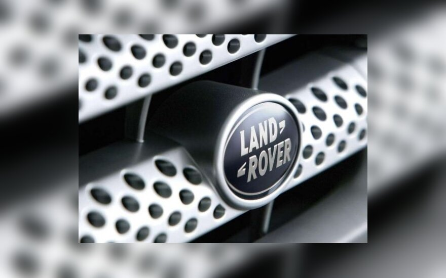 """""""Land Rover"""" visureigiai bus surenkami ir Indijoje"""