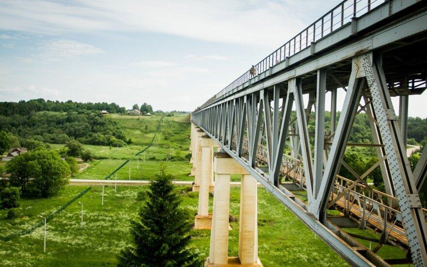 Lankytojams bus atvertas aukščiausias Baltijos šalyse Lyduvėnų geležinkelio tiltas