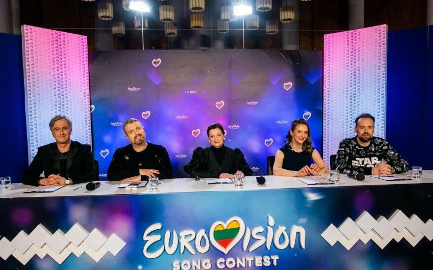 """Artėjanti """"Eurovizijos"""" finišo tiesioji kelia įtampą: žiūrovei užkliuvo komisijos narės replika"""