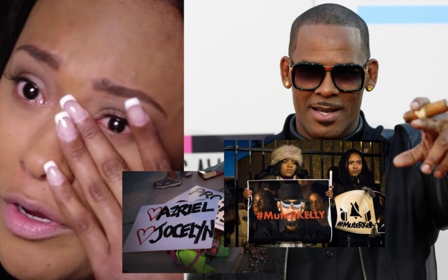 Dainininkas R. Kelly ir protestas prieš jį