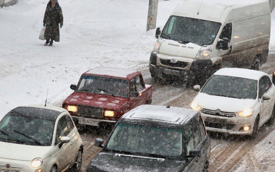 Sniegas Rusijoje