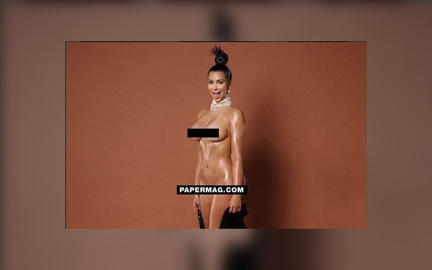Kim Kardashian (papermag.com nuotr.)