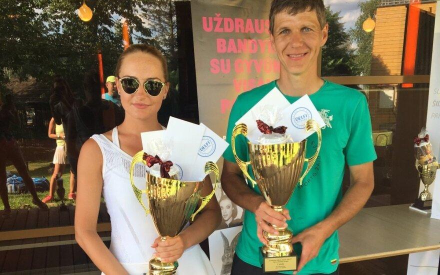 """""""Vasaros teniso turnyrai su Delfi"""" dalyviai Druskininkuose"""