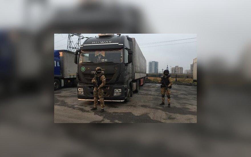 Prie Rusijos ir Estijos sienos sulaikytas 360 kg hašišo vežęs Lietuvos pilietis