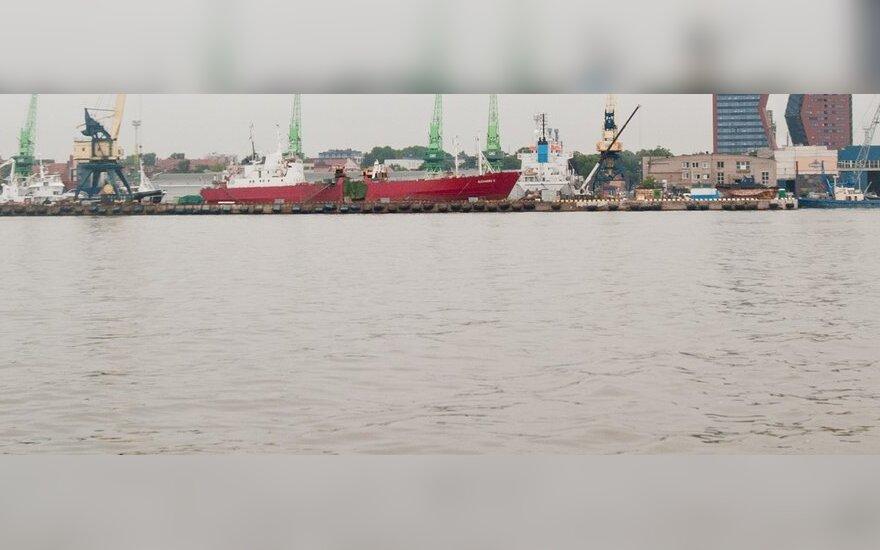 Iš uosto išsiurbs 200 tūkst. kubinių metrų užteršto dumblo