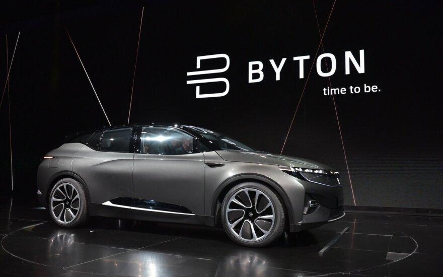 """Byton"" automobilio premjera"