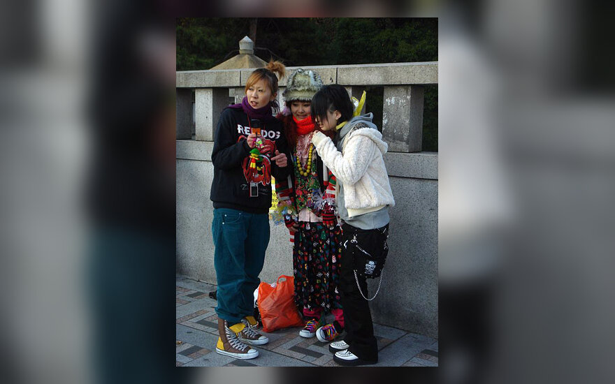 Japonija, harajuku, jaunimas
