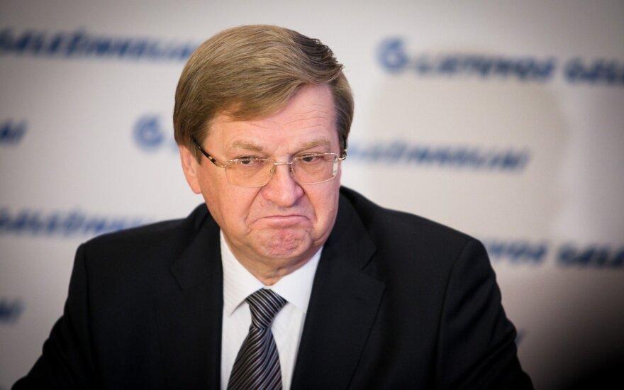 S. Dailydka apie geležinkeliams skirtą 28 mln. eurų baudą: čia jau ne mano problema