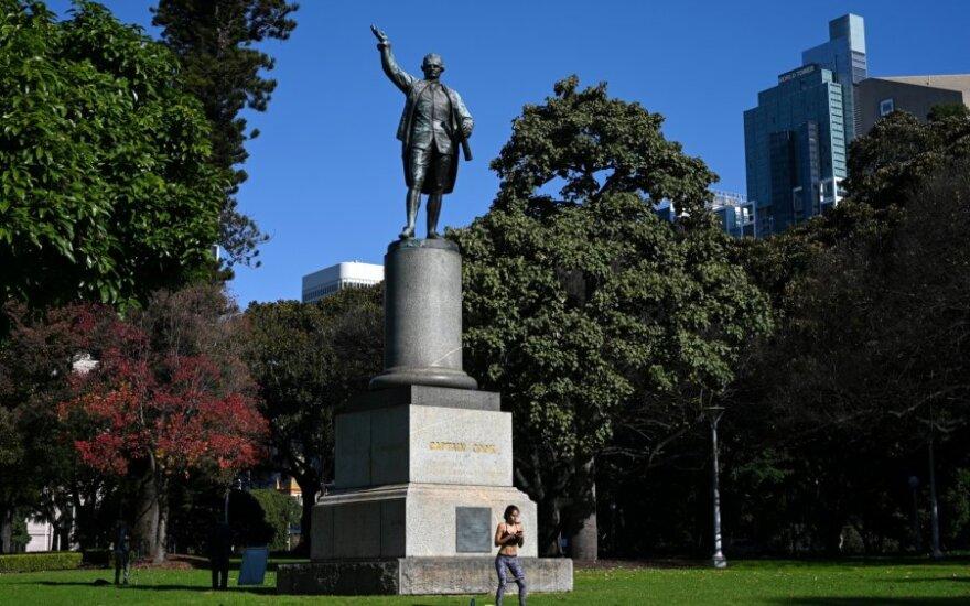 Jameso Cooko statula Sidnėjuje