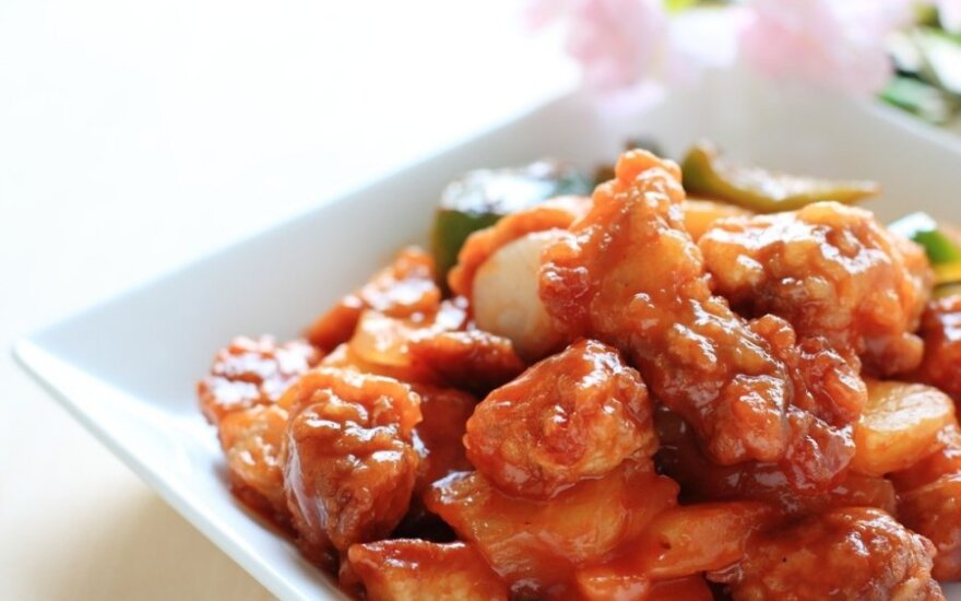 Saldžiarūgštė kiauliena kiniškai