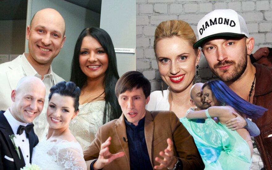 Milisandra ir Algirdas Radzevičiai, Darius Ražauskas, Dainė ir Donatas Baumilos bei Rasa Židonytė/ Foto: Delfi fotomontažas