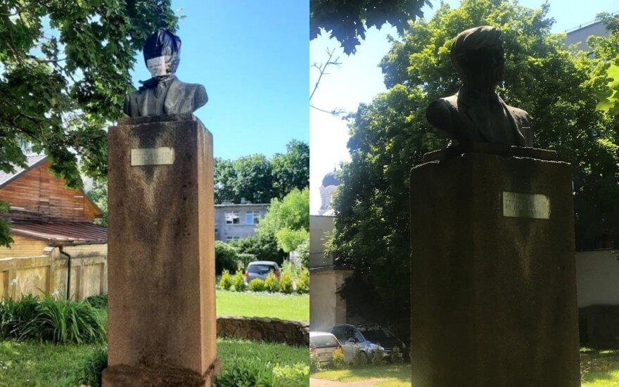 Petro Cvirkos paminklas Kaune