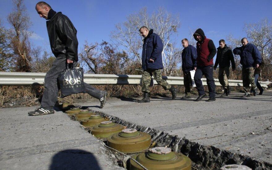 Ukrainoje – apsikeitimas belaisviais