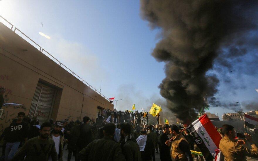 Irake protestai
