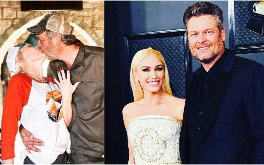 Gwen Stefani ir Blake'as Sheltonas