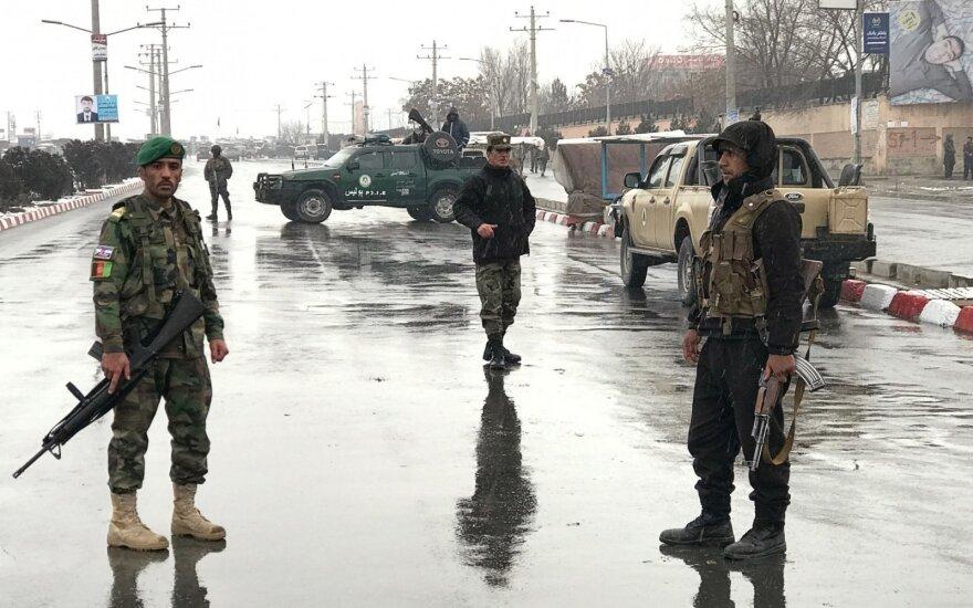 Per sprogimą degalinėje Kabule žuvo 3 žmonės ir 44 buvo sužeisti
