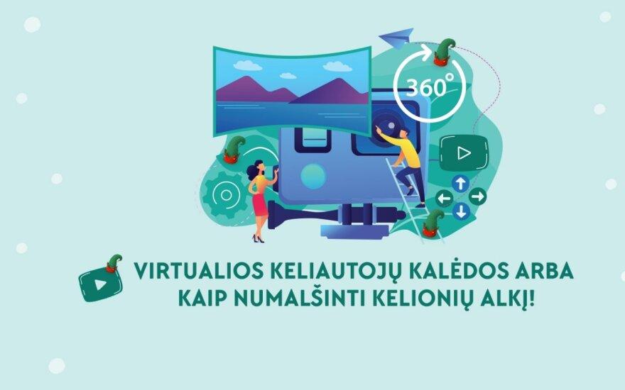 Virtualios Kalėdos keliautojams arba kaip numalšinti kelionių alkį karantino metu