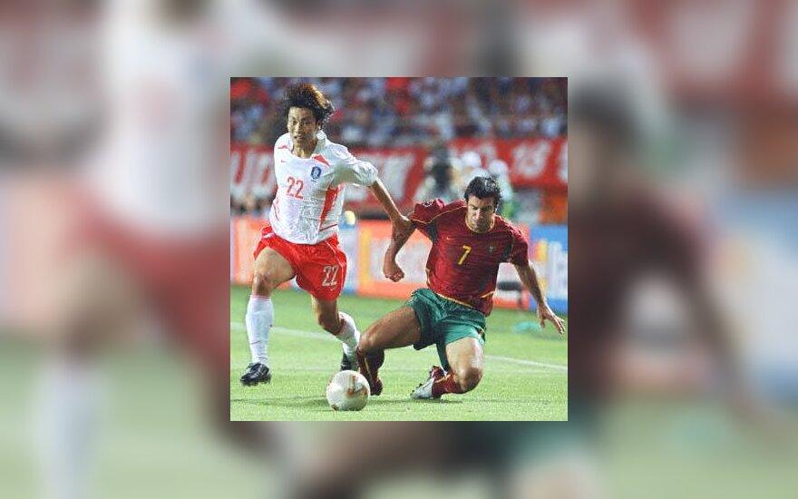 Portugalija - Pietų Korėja