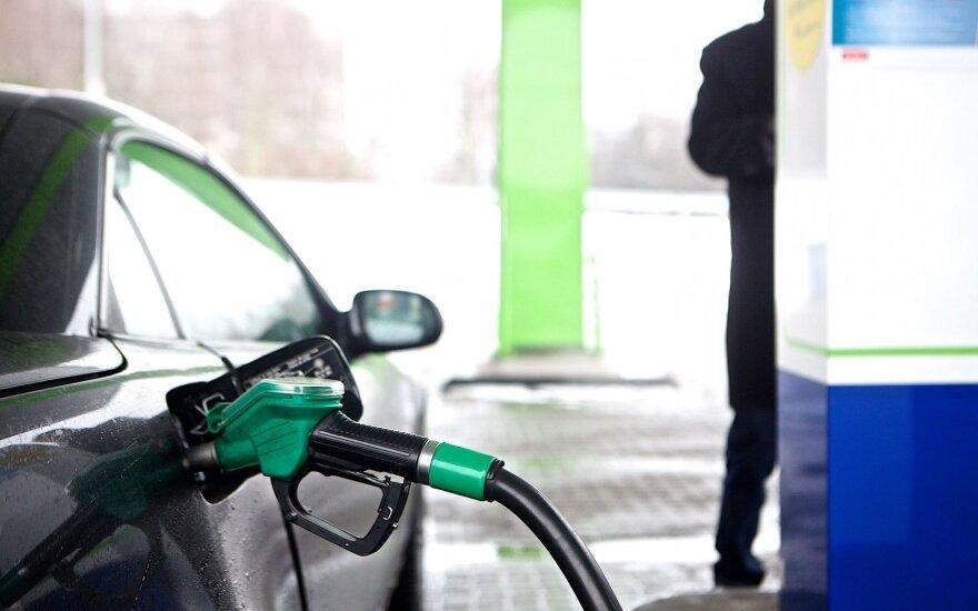 Povilauskas: degalų kainų pokyčių artimiausiu metu neišvysime