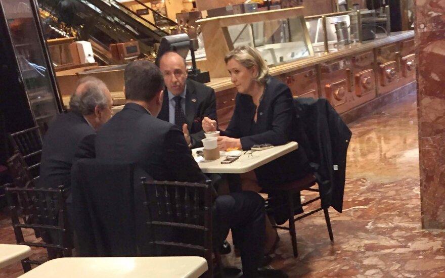 "M. Le Pen apsilankė ""Trump Tower"""