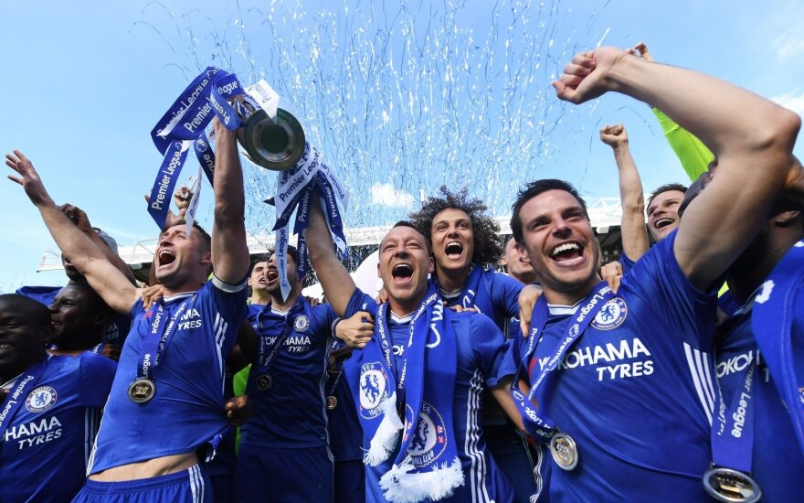 """Londono """"Chelsea"""" – Anglijos """"Premier"""" lygos nugalėtojai"""