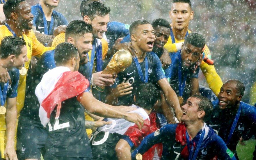 Pasaulio čempionė Prancūzijos rinktinė