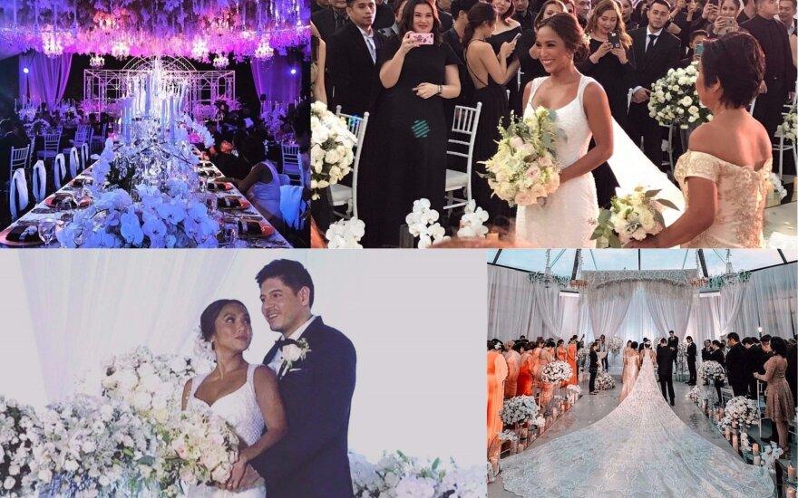 Rochelle Pangilinan ir Arthuro Solinapo vestuvės